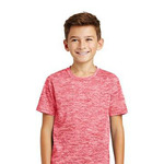 Youth PosiCharge ® Electric Heather Tee