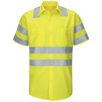 Enhanced & Hi-Visibility Work Shirt - Long Sizes
